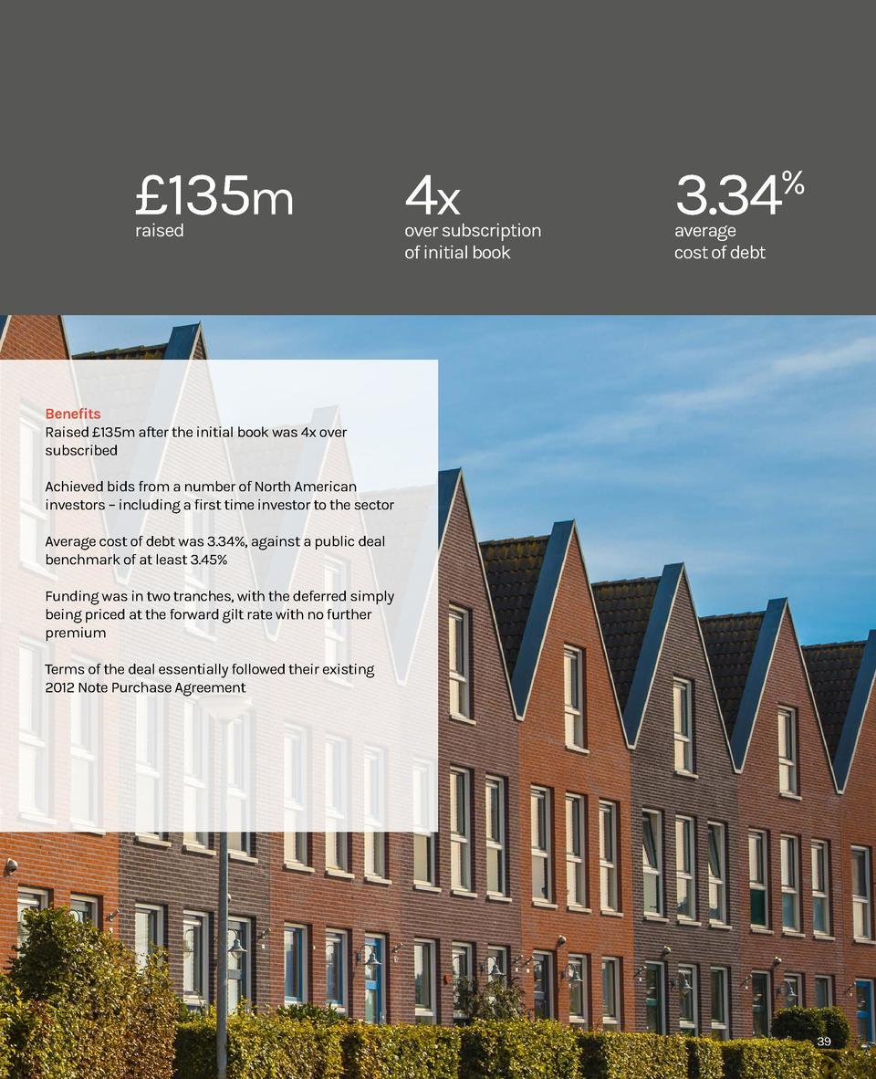 Social Housing 2018  Case study  Newlon raising   135m from the private placement market  38  Background Newlon is a mid-s...